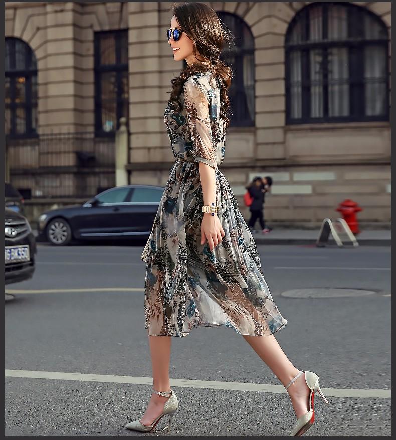 Платья из тайского шелка