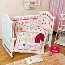 new designs Baby Crib Bedding set, bumper ,comforter