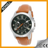 black metal band watches watch with leather strap new design watch