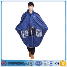 Safety rain ponchos with reflective tape good quality cheap price for motorcycle