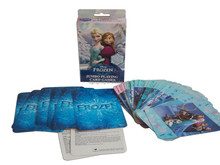 2015 Frozen 56pcs paper playing cards for fun