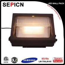 50W/60W High Quality SMD/COB LED Wall Pack with 3 Years Warranty EMC Driver