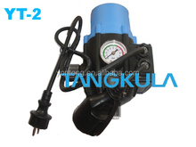 Pressure control for centrifugal submersible pump