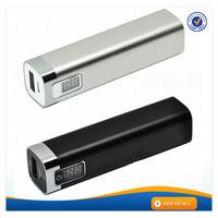AWC064 2015 best selling 18650 mili power bank aluminium best portable power banks for mobile phones