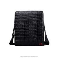 Hot sale leather shoulder bag pure leather handbag for men