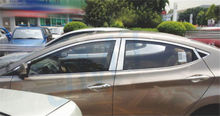 Best sellers! Stainless steel Window Frame Trims(kits)14pcs And Pillor plat(6pcs) for HYUNDAI ELANTRA 2012