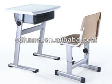 FM-A-901 Plastic combo school desk and chair