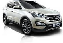 Diplomatic Car Hyundai Santa Fe Grand