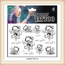Neweast fashionable temporary tattoo kit