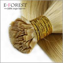 Pre Bonded Flat Tip Hair Extensions 1 Gram Strand Remy Human Keratin Hair 50G 100G 150G 200G