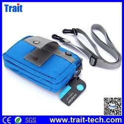 Wholesale 18 x 11CM Durable Travel Pouch Zippered Waist Compact Security Money Waist Belt Bag