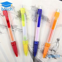 Fancy advertise banner ballpen, retractable pulled out ball pen Promotional
