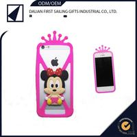 high quality cell phone case for cartoon silicon rubber case ,for universal bumper case