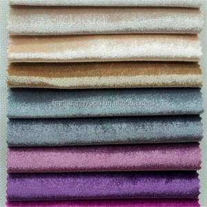 Mode Nouveau Style Glace Velours Brillant Couleurs Tricotage chaîne Tissu D'ameublement pour Antique Meubles
