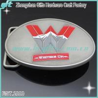 Antique silver WESTERN UP 3D belt buckles custom design belt buckle