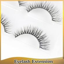 Good quality korea beautiful mink eyelash fiber red cherry eyelashes wholesale