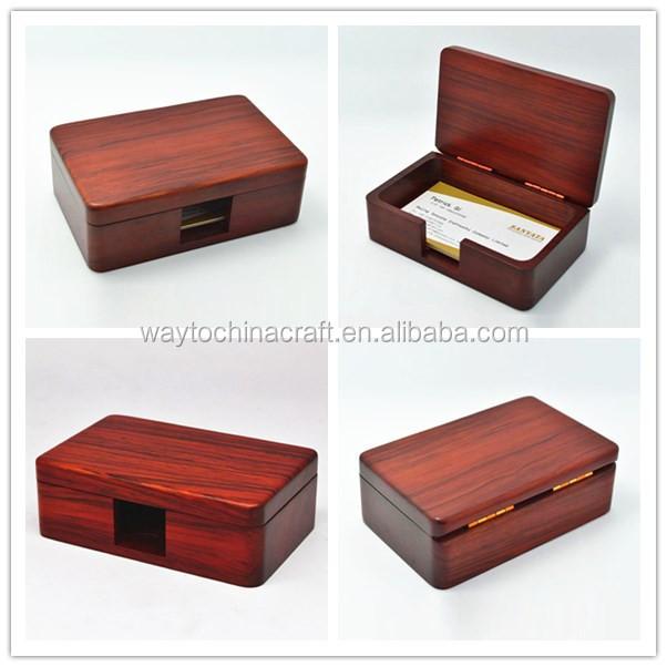 Classical design wooden business card box buy business card box syt dncb01r zutug colourmoves