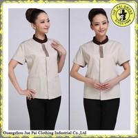 Polyester and cotton women work uniform work uniform