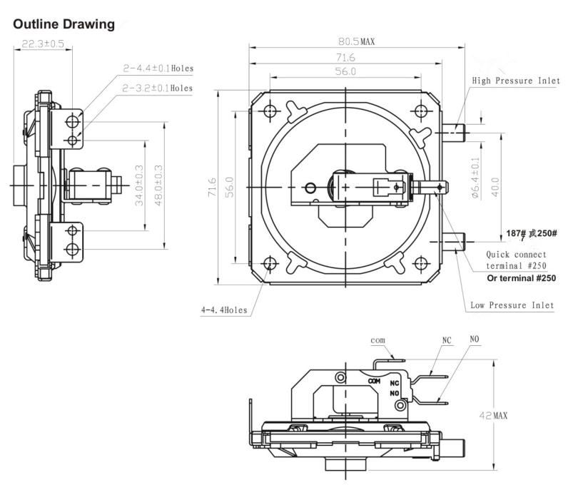 china customized greetech gps100 air micro switch