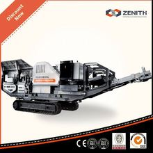 Famous manufacture crawlered crusher machine with ISO Approval