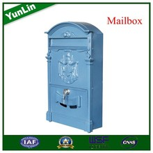 YL4010 Cast Aluminum Mailbox with basketball post