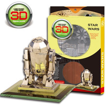 DIY 3D puzzle model High Quality stainless steel STAR WARS