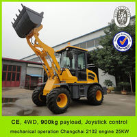 hot sale CE front and back loader,reasonable price front and back loader