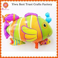 New Design Fish Mylar Helium Balloons Baby Shower Party Decor for Wedding decorations aluminium foil balloon