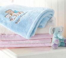 baby bear fleece blanket/ baby blankets wholesale