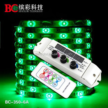 3 channels DC12V-24V rotary led controller rf wireless remote led lights rgb strip controller