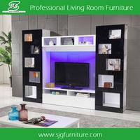 lcd tv unit furniture led tv wall unit tv unit SYG-002
