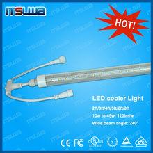 China High Luminous OEM Factory 4ft,5ft,6ft,8ft L.E.D. lights for cooler and freezer doors