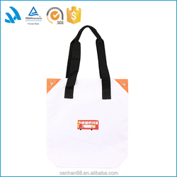 Hot sale custom personalized canvas tote shopping bag wholesale