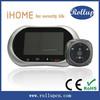 Original design door video peephole,digital door eye viewer,electric ding dong doorbell
