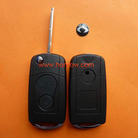 High Quality and Best Service key Ssangyong modified flip remote key blank with free shipping 60%