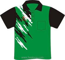 Healong Custom Design Digital Free Sample Kids Polo T Shirts