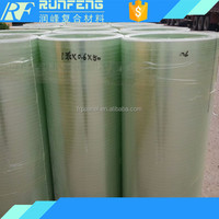 flat transparent frp translucent roofing sheets in rolls with ten years warranty