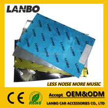 Improve audio sound car interior accessories self-adhesive soundproofing material car sound proofing