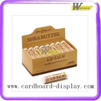 Lip Balm Corrugated Cardboard Printing PDQ Carton Displays