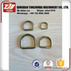 nickel plated steel d-ring metal ring