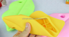 sexy lip shape silicone phone case