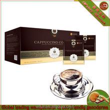 Juncao organique reishi extrait cappuccino café ( instantanée café )