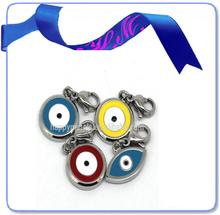 stainless steel enamel sexy evil eye charm