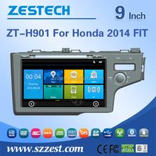 car audio amplifier For Honda 2014 FIT car gps with auto radio Bluetooth SD USB Radio wifi 3G