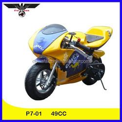 49CC Gasoline Engine Gas-Powered Pocket Bike (P7-01)