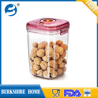 Kitchenware lock and seal plastic food storage container