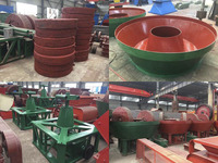 China Wet Pan Mill for Gold Mine on Sale, Wet Pan Mills for Sale