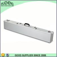 Aluminum metal plastic leather gun case