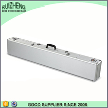 Aluminum metal plastic leather gun case