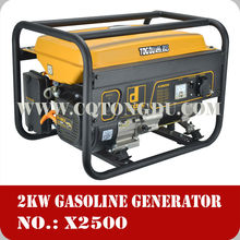 2015 lowest price high power gasoline generator 12v dc generator with 100% Copper Winding Alternator